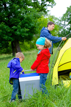 Camping in the State Parks