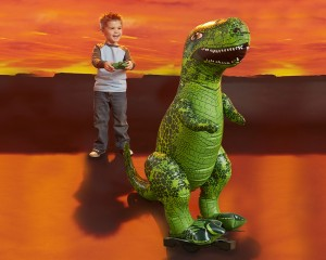 Animal Planet Radio Controlled Giant Inflatable T-Rex