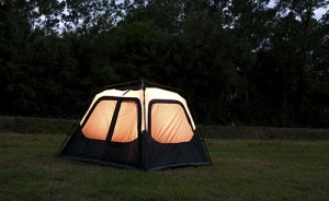 Glowing Tent in Backyard & Your Guide to a Perfect Backyard Camping Adventure | Discovery Kids