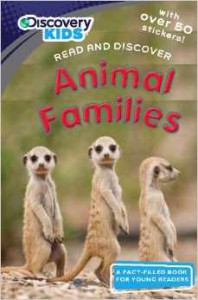 Animal Families with Stickers