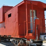 The caboose is the last car on a freight train, but they aren't used as much anymore. They were once seen on every freight train and served as protection for the rest of the train, and living quarters.