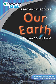 Our Earth with Stickers