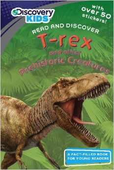 T-rex and Other Prehistoric Creatures with Stickers