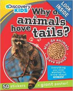 Why Do Animals Have Tails with Stickers and Poster