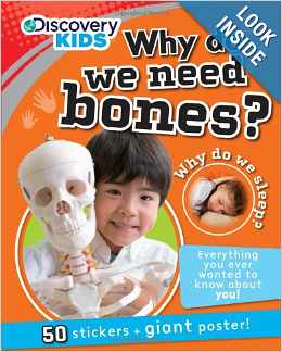 Why Do We Need Bones with Stickers and Poster