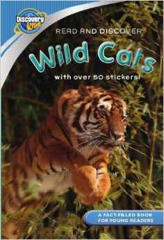 Wild Cats with Stickers