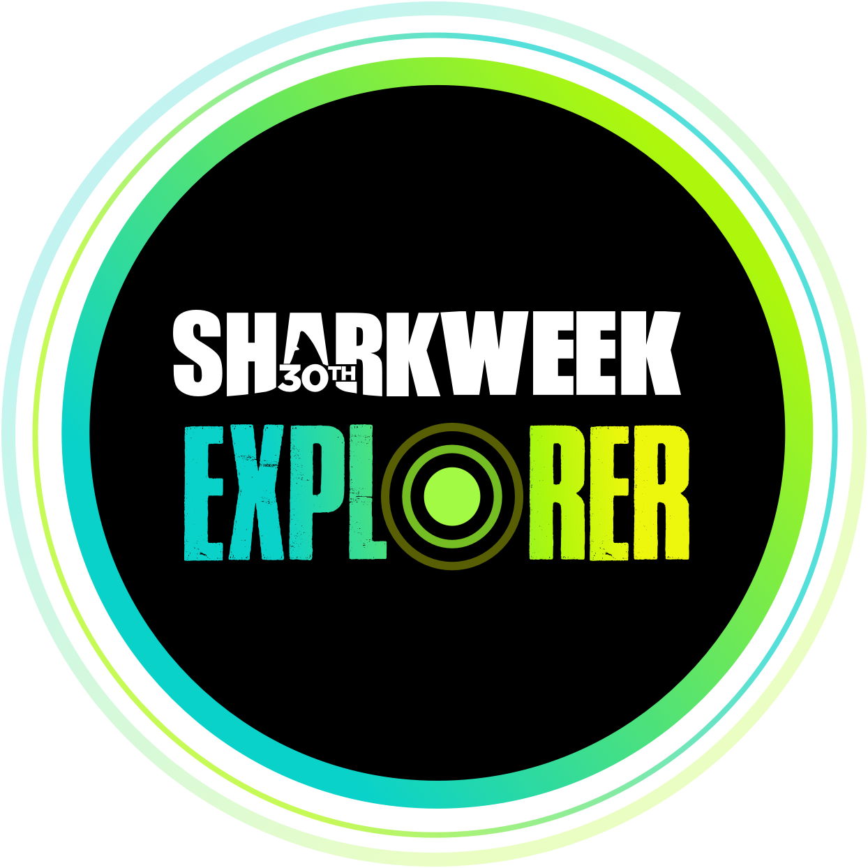 shark week explorer logo