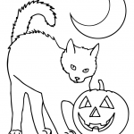 halloween pet coloring pages-#11